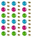 Picture of Peel-n-Stick Glitter Gems  12mm x18mm with 5mm Metal Studs -Crown Jewels (SE033A)