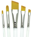 Picture of R&L - Aqualon Brush Set (RAQUA-FIL/ANG) 5pc