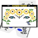 Picture of Flower Power Stencil Eyes - (Child Size 4-7 YRS OLD)