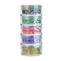 Picture of Vivid Glitter Stackable Glitter Gel - Festivity 5pc (25g)