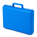 "Picture of Empty Carrying Case - Blue (Inside: 13.75"" x W=9.5"" x H=2.7"")"