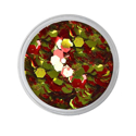 Picture of Vivid Glitter Loose Glitter - Victorious - Garnet & Gold Gameday (25g)