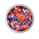 Picture of Vivid Glitter Loose Glitter - Fearless - Purple & Orange Gameday (25g)