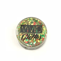 Picture of Vivid Glitter Glitter Gel - Christmas Miracle  (25g)