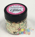 Picture of ABA Chunky Glitter Blend - Gold (1oz)