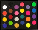 Picture of DFX - 24 Colours Assorted Palette Set -(24x10G)