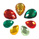 Picture of Teardrop Gems - Festive Set - 10mm X 13mm -13mm X 18mm (7 pc.) (AG-T1)