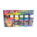 Picture of ProAiir Hybrid - Rainbow UV Colour Airbrush Paint Set ( 6 x 1 oz )