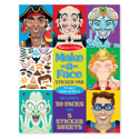 Picture of Melissa & Doug - Make-a-Face Sticker Pad - Crazy Characters (160+ Stickers)