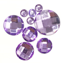 Picture of Round Gems - Lilac - 5 to 20mm (9 pc) (SG-RL)