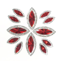 Picture of Double Pointed Eye Gems - Red - 6x14mm & 10x25mm (12 pc.) (AG-DPER)