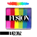 Picture of Fusion Rainbow Cake - Bright Rainbow - 50g