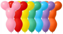 Picture of Sempertex Big Bear Head Balloons - Fashion Assortment (50/bag)
