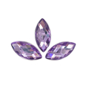 Picture of Pointed Eye Gems - Purple - 7x15mm (15 pc) (SG-PE4)