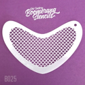 Picture of Art Factory Boomerang Stencil - Small Scales ( fish, mermaid ) (B025)