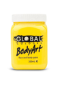 Picture of Global  - Liquid Face and Body Paint  - Yellow - 200ml