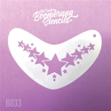 Picture of Art Factory Boomerang Stencil - Star Crown (B033)