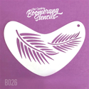 Picture of Art Factory Boomerang Stencil - Fern (B026)