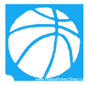 Picture of Basketball Stencil (ABA) - pack of 10
