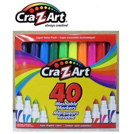 Cra Z Art Washable Markers Pack Of 40 Tag Body Art Canada