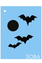 Picture of Bats Stencil - SOBA-81