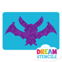 Picture of Bat Glitter Tattoo Stencil - HP (5pc pack)