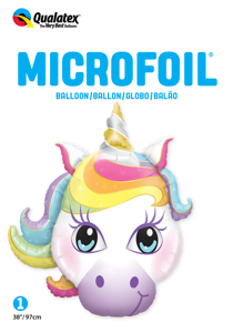 "Picture of 38"" Magical Unicorn Foil Balloon (1pc)"