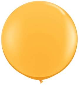 Picture of Qualatex 3FT Round - Golden Rod Balloon (2/bag)
