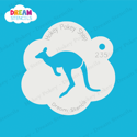 Picture of Kangaroo - Dream Stencil - 235