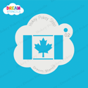 Picture of Canada Flag - Dream Stencil - 02
