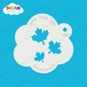 Picture of Cascading Maple Leaves - Dream Stencil - 06