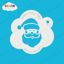 Picture of Santa Face - Dream Stencil - 71