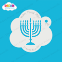 Picture of Menorah - Dream Stencil - 76