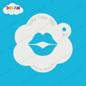 Picture of Lips - Dream Stencil - 81
