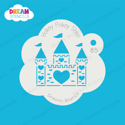Picture of Heart Castle - Dream Stencil - 85