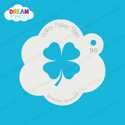 Picture of Four-Leaf Clover  - Dream Stencil - 96