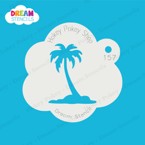 Picture of Single Palm Tree - Dream Stencil - 157
