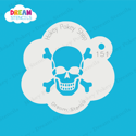 Picture of Skull with Bones - Dream Stencil - 151