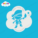 Picture of Pirate Boy - Dream Stencil - 165