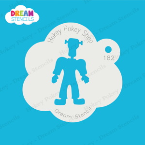 Picture of Standing Franky - Dream Stencil -182