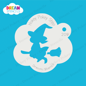 Picture of Little Witch - Dream Stencil - 209