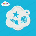 Picture of Sea Shells - Dream Stencil - 228