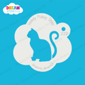 Picture of Sitting Cat - Dream Stencil - 222