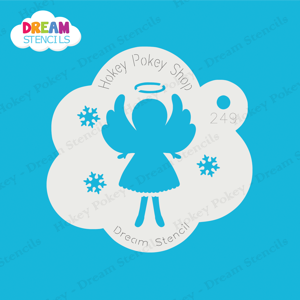 Picture of Christmas Angel - Dream Stencil - 249