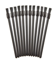 Picture of Disposable Lip Gloss Brush Set (Black)  - 12pc
