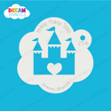 Picture of Dream Castle - Dream Stencil - 254