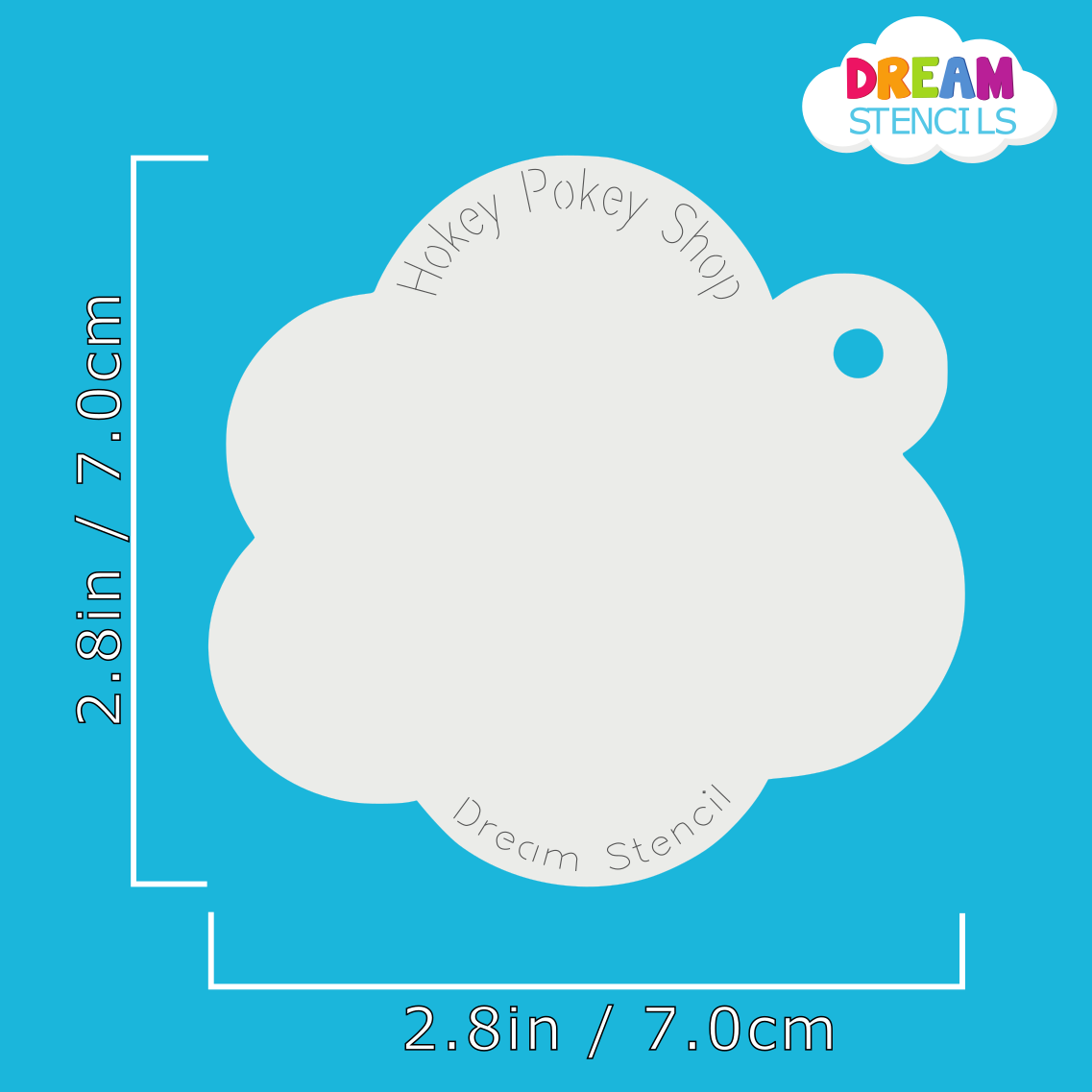 Picture of Sufganiyot Doughnut  - Dream Stencil - 262