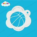 Picture of Basketball - Dream Stencil - 269