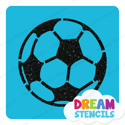 Picture of Soccer Ball Glitter Tattoo Stencil - HP-279 (5pc pack)