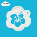 Picture of Hawaiian Hibiscus - Dream Mylar Stencil - 297